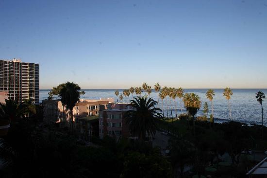 La Valencia Hotel: Room with a VIEW!