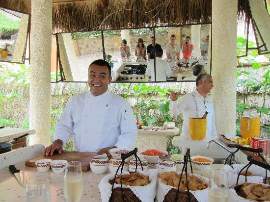 Las Ventanas al Paraiso, A Rosewood Resort: cooking demonstration