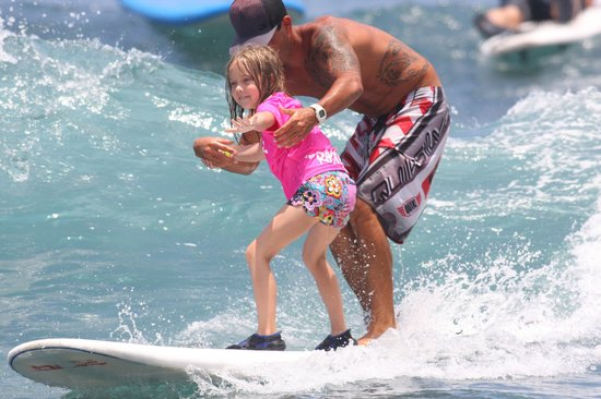 Hawaii Lifeguard Surf Instructors: Surf as young as 3 yrs old!
