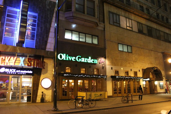 Olive Garden Philadelphia 1346 Chestnut St Menu