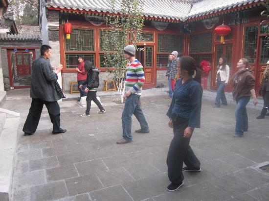 Fly by Knight Courtyard Beijing: Kung Fu Lesson