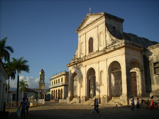 Casa Particular Diego: iglesia