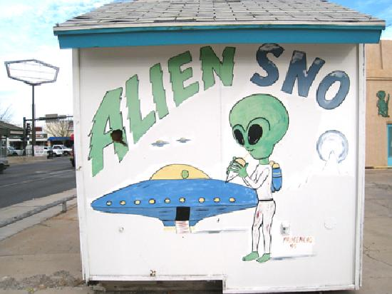 """Roswell, NM: It's not representative of the """"downtown historic district"""" but it's fun."""