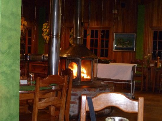 Los Quetzales Lodge Restaurant: Restaurant