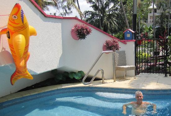 By The Sea Port Douglas: Beating the heat in the pool
