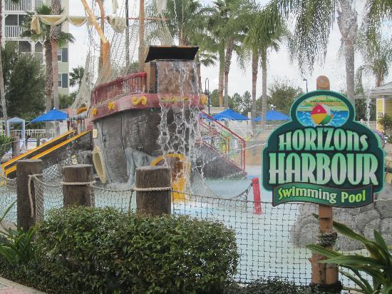 Marriott's Harbour Lake: Pirate Ship Pool