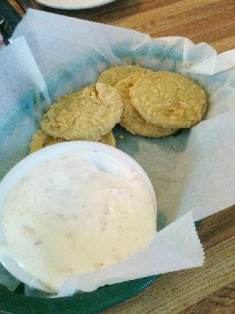 PoFolks: Fried Green Tomatoes
