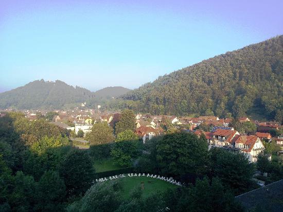 Bad Lauterberg, Germany: Blick über den Kurpark