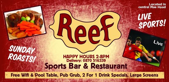 Reef Sports Bar & Restaurant