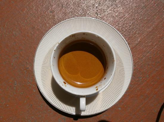 Tretto Caffe: que hermosa crema del espresso!