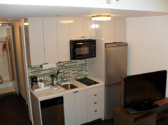 Small Kitchen Very Useful Picture Of Element New York Times Square West New York City