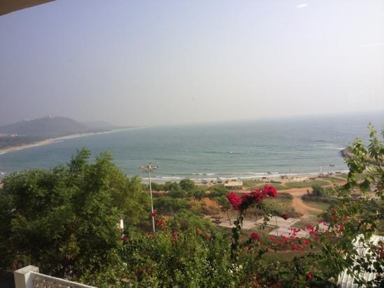 Rishikonda Beach : Rushikonda Beach (taken from Haritha Beach Resort)
