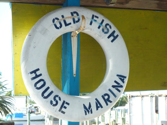 Old Fish House Marina Restaurant: Went to local salon, Angels and they recommended we eat here for lunch - it was just what we nee
