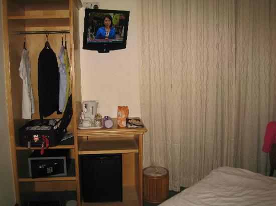 Hotel Bencoolen - Bencoolen Street: tv
