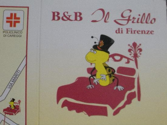 Il Grillo di Firenze: B&Bのロゴ