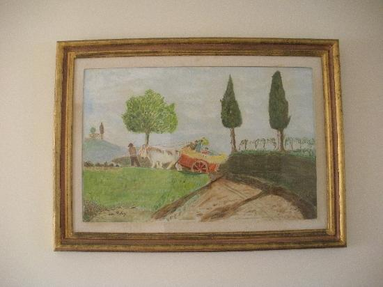 Il Grillo di Firenze: 飾ってあった絵