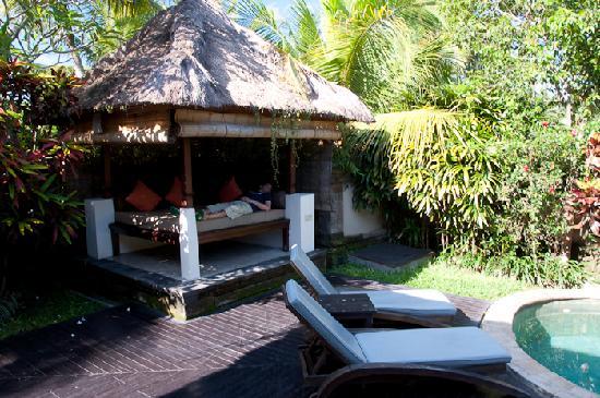 Pool inside the villa picture of the ubud village resort for Garden pool villa ubud village resort