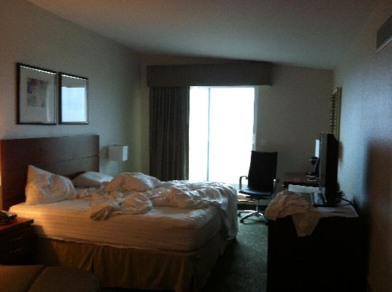Holiday Inn L.I. City - Manhattan View: Spacious and wet room on the highest floor