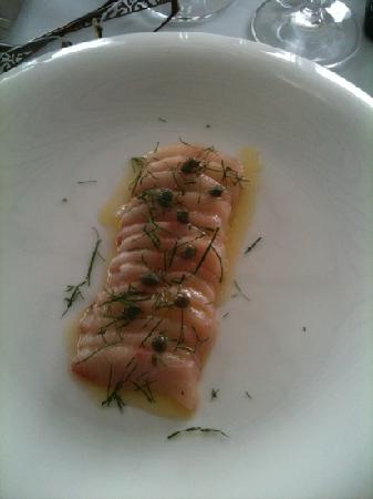 The Bistro at Manly Pavilion: Delicious Raw Kingfish