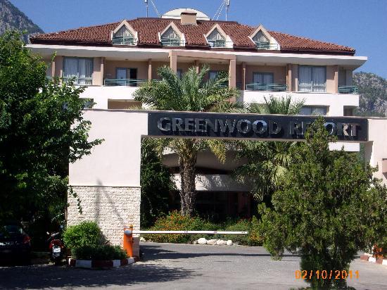 Sherwood Greenwood Resort: Entrée du Greenwood Resort