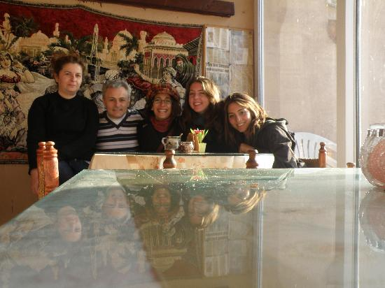 Mystic Hotel: Foto con la familia