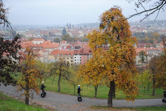 Segway Rent Prague : petrin hill