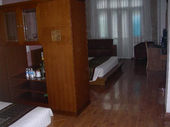 Hanoi Luxor Hotel : My room - a family suite for 3