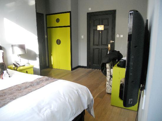 Geruisi Art Hotel: La habitación