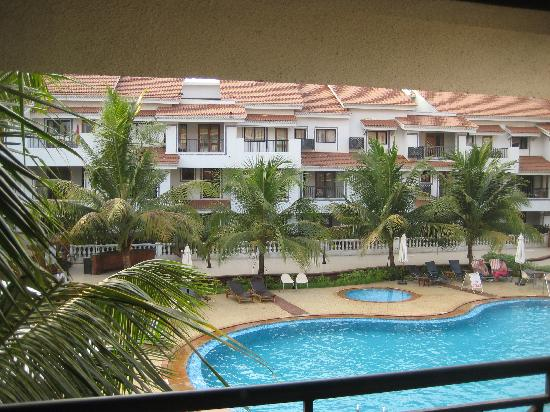 DoubleTree by Hilton Hotel Goa - Arpora - Baga: View from the rooms