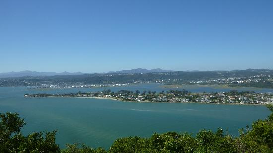 Footprints of Knysna: view from featherbed nature reserve