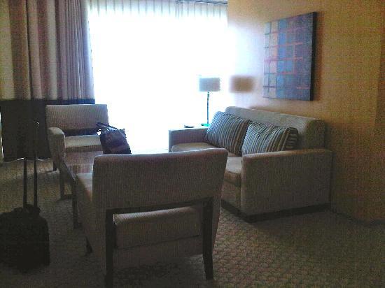 Renaissance ClubSport Aliso Viejo Laguna Beach Hotel: living room
