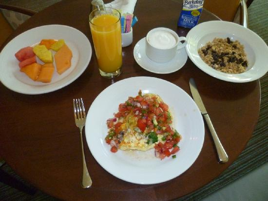 Renaissance ClubSport Walnut Creek Hotel: My healthy breakfast