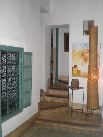 Dar Malak: l'acces aux étages
