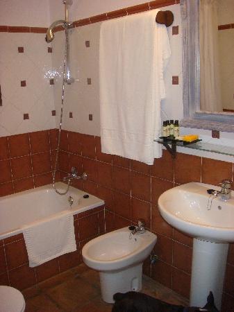 Hacienda La Herriza Hotel: baño