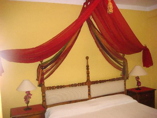 Hacienda La Herriza Hotel: dormitorio