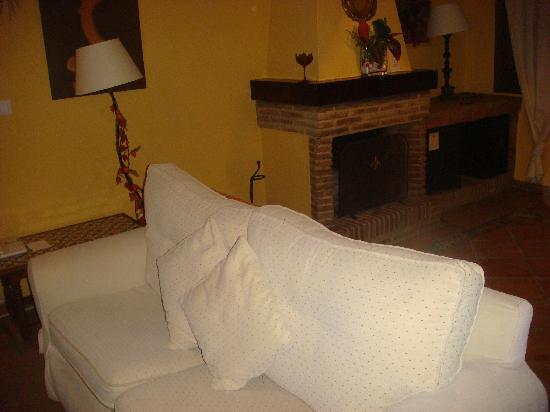 Hacienda La Herriza Hotel: salon