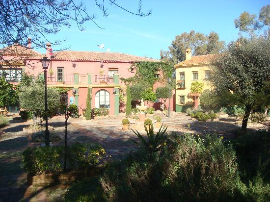 Hacienda La Herriza Hotel: plaza