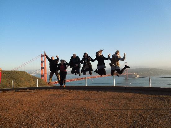 Golden Horizon Tours: Saltando sobre el Golden Gate