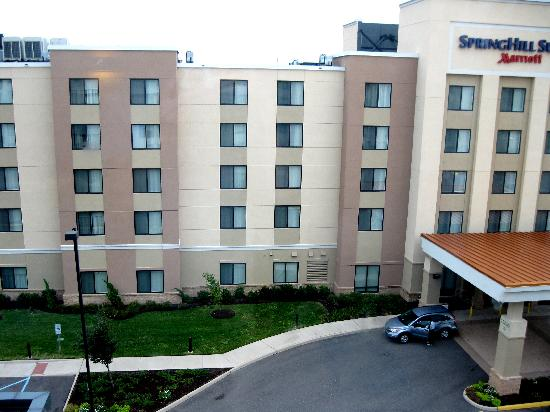aloft Chesapeake : View from our Room of the Hotel Next Door