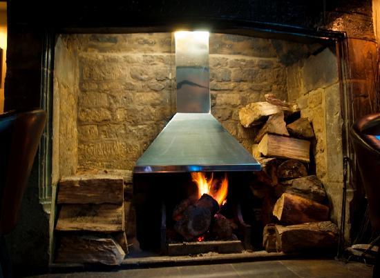 The Inn at Farnborough: Our roaring fire