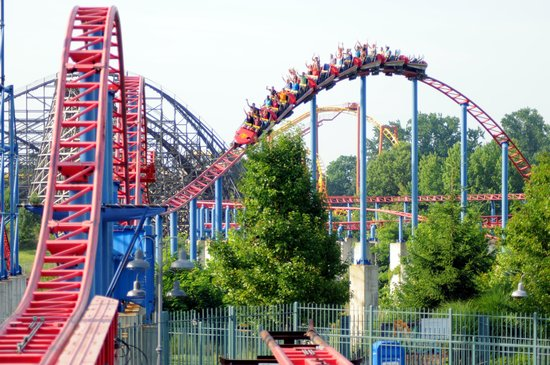 ‪‪Bowie‬, ‪Maryland‬: SUPERMAN: Ride of Steel at Six Flags America‬