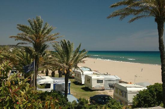 Creixell, Spain: Our beautiful sandy beach