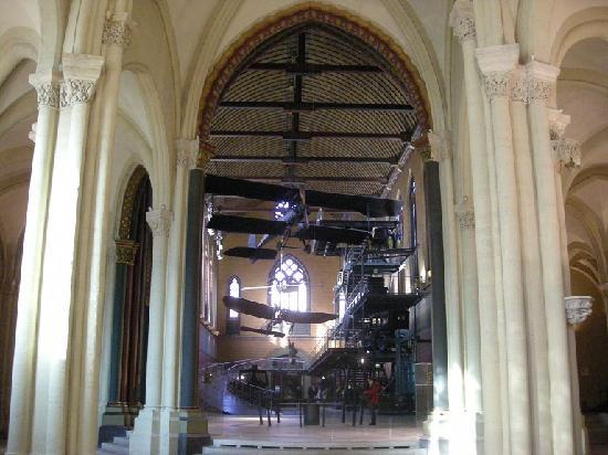 Musée des arts et métiers : vista del museo