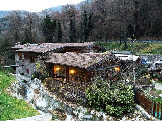 Tremosine, Italië: Ristorante Brasa