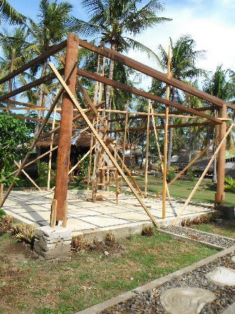 Tunai Cottages: le futur restaurant