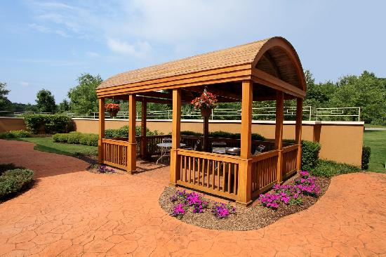 Courtyard by Marriott Rockaway - Mt. Arlington: Covered Picnic Area