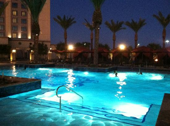 Pool At Night Picture Of Casino Del Sol Tucson