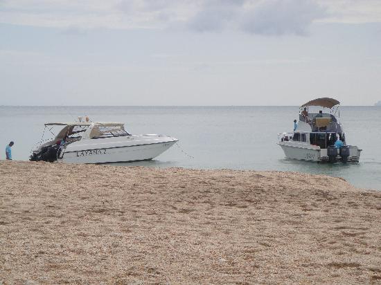 Layana Resort and Spa: Die Layana Speedboats für den Transfer und Ausflüge