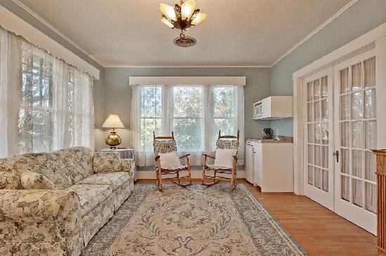 All Seasons Main Street Retreat: Old Rectory Living Room