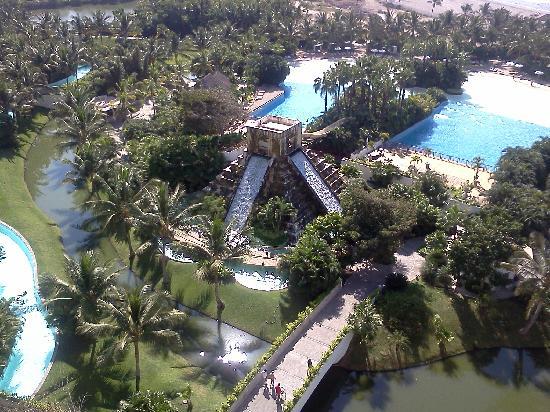 Mayan Palace Nuevo Vallarta: Haciendo el tour de ventas